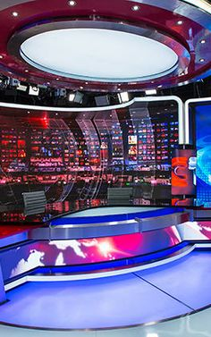 With Glittering New Set Design, CCTV News Takes Aim At The World by Jack Morton | Co.Design | business + design