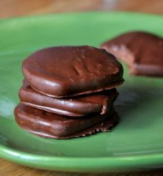 Homemade Girl Scout Cookies- Gluten Free Thin Mints