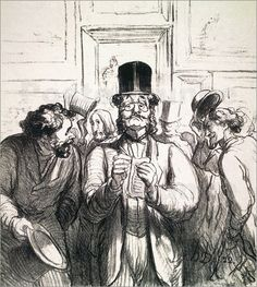 Mais c'est quoi un-e critique d'art ? Drawing Sketches, Art Drawings, Sketching, Critique D'art, Honore Daumier, Paul Cezanne, Wood Engraving, Religious Art, Art World