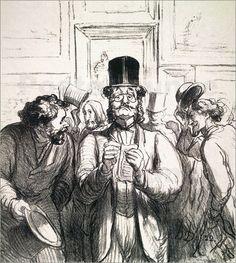 """Honoré Daumier, """"Art Critic"""""""