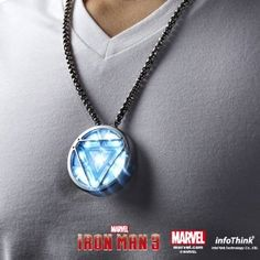 Marvel Iron Man 3 Arc Reactor Usb Light Up Flash Drive Ultra-portable USB flash drive and lightweight metal