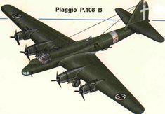 Piaggio P 108 B Della Regia Areonautica