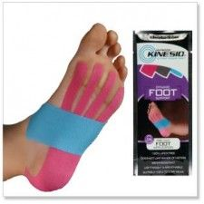 Kinesio tape for plantar fasciitis.i