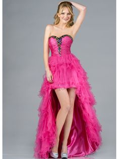 High Low Prom Dress. Get yours today at www.SungBoutiqueLA.com