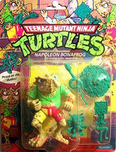 Playmates 1990 – Napoleon Bonafrog « MutantOoze.org: Teenage Mutant Ninja Turtles