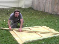 How To Build A Wood Fence Gate Fences Wood Fence Gates