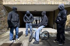 (File picture) Gang members pictured on the streets of Brixton, south London. A new report has found worrying levels of sexual violence in s. Nike Vest, Bad Boy Style, Street Culture, Uk Culture, Game Character Design, South London, London Photography, Gangsters, Short Film