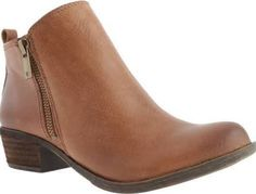 Lucky Brand Basel Bootie Women's Shoes | ankle boot | brown