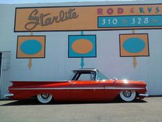 '59 El Camino ... the best pick-up ever !I have wanted one of these cars since I was a little motor head