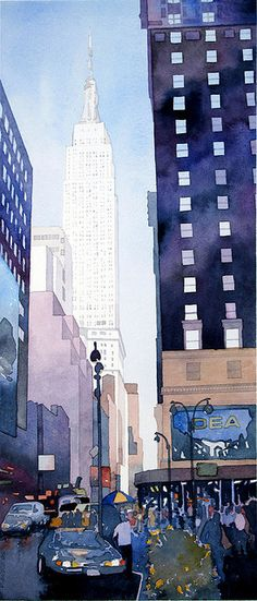 Empire State Building by Don Gore (dgdraws), via Flickr