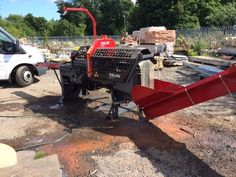 The popular KS35S firewood processor from palax - gets the job done!