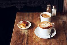 latte-art:  Coho café. (by Paj.)