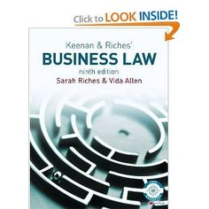17 best new books images on pinterest new books exploring and finance keenan riches business law lawebooks fandeluxe Images