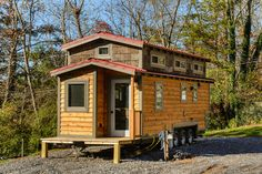 The MH: a 240 sq ft tiny house from Wishbone Tiny Homes of Asheville, NC.