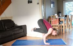 Pin it! How to do crow to tripod headstand One of my favourite things about yoga is the sequencing, I think because I love vinyasa flow and my teacher training was a pure vinyasa flow yoga programme t