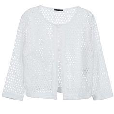 In diese stylische #sommerjacke von Sisley haben wir uns sofort verliebt! Die perfekte Ergänzung für ein #outfit im #marinelook mit vielen tollen Details! #damenmode #trends