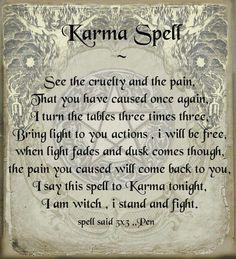 Karma spell More