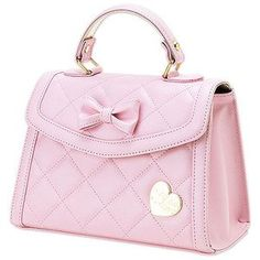 Top Most Beautiful Model Handbags.  Love the pretty bow with gold heart!  Just lovely ♥