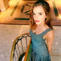 Another photo of Emma Watson final look of the Regresion film press junket.…