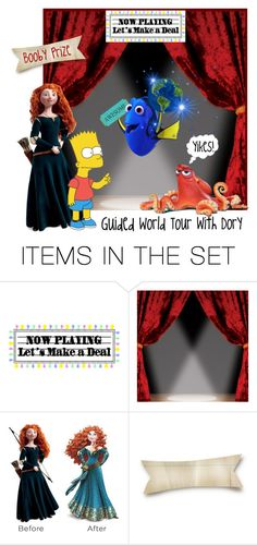 """""""Bart's Not Much of a Swimmer!"""" by krusie ❤ liked on Polyvore featuring art and vintage"""