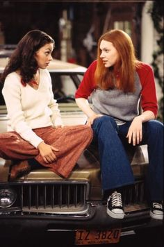 Donna and Jackie trying to be friends.