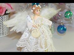 Altered Christmas Tree Angel + Start to Finish - Shabbylishious DT Project