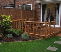 garden design ideas with decking   hotshotthemes ideas for decking Stunning ideas for decking Gallery