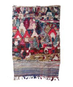 Madesign 2015 Collection Vintage Boucherouite Rug