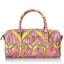 Prada Saffiano Print Boston Handbag  #BBOSBrandBurst