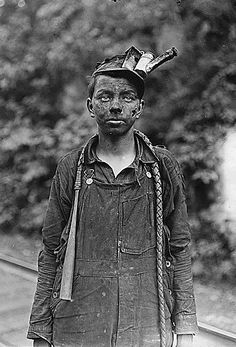 child who worked in the coal mines before the child labor laws