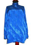 Camasa vintage din charmeuse albastru electric anii '70 http://www.vintagewardrobe.ro/cumpara/camasa-vintage-din-charmeuse-albastru-electric-anii-70-2770274