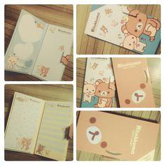 Rilakkuma Sticky Notes Zuper cute! :3