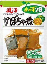 おかず畑 かぼちゃ煮 | 【和惣菜・サラダ】おかず畑シリーズ | 商品情報 | フジッコ株式会社
