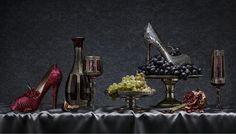 Peter Lippmann, campagne hiver 2009/2010 Louboutin inspirée des peintres néerlandais du XVIIème siècle.