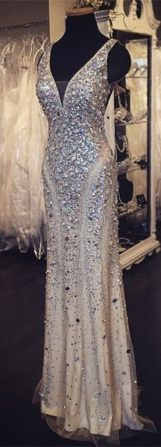 DIYouth.com beading prom dress,beaded evening dresses, sexy cocktail dresses, long graduation dresses, party dress