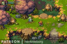 """Henk Nieborg on Twitter: """"Early WIP pixelart mockups from my game BattleBash. Please checkout my Patreon page too! #pixelart #retrogaming #gamedev #indiegame @patreon https://t.co/MeRlm1IuQS"""""""