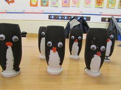Játékos tanulás és kreativitás: Pingvinek Actimeles flakonból