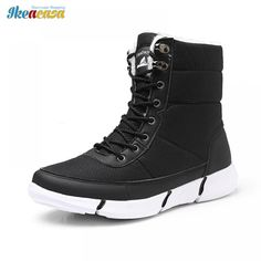 Winter Snow Boots Unisex Shoes Fur Plush Waterproof //Price: $40.37 & FREE Shipping //     #life #architecture #nature