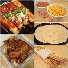 Too tired to cook? 3 Course Family Meal with Cheese Enchiladas to the rescue from El Pollo Loco