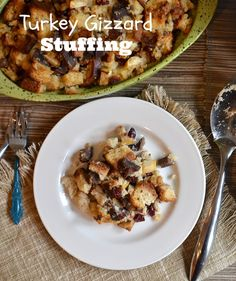 Turkey Gizzard Stuffing
