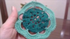 Crocheting in circles, 5th, 6th and 7th rows (English)