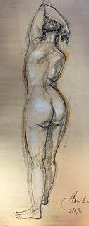 Janet Hamlin Figure sketches
