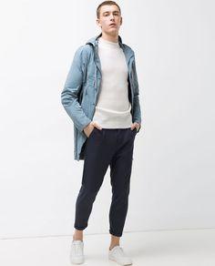 Creating the Men Minimalist Fashion Wardrobe Zara Fashion, Mens Fashion, Fashion Outfits, Fashion Clothes, Mode Zara, Zara Man, Men's Wardrobe, Mens Clothing Styles, Men's Clothing