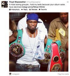 Floyd Mayweather Going In On 50 Cent
