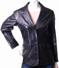 Classic & Blazer Leather Jackets for Women
