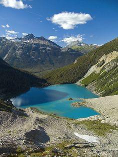 Upper Joffre Lake, Joffre Lake Provincial Park, British Columbia, Canada