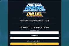 Football Heroes Unlimited Bucks Unlimited Coins Online Hack and Cheats http://aifgaming.net/football-heroes-online-hack-cheats/