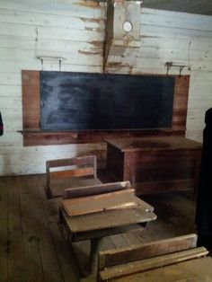 One room schoolhouse in Missouri where my grandfather attended school.