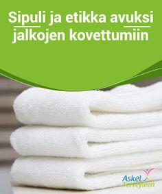 """""""Isoäidin"""" pyyhkeenvalkaisuvinkit – 5 helppoa ja edullista ratkaisua  Kun valkoiset pyyhkeesi alkavat muuttua kellertäviksi pidemmän käytön seurauksena, kannattaa kokeilla näitä helppoja ja nopeita niksejä, joiden avulla voit valkaista pyyhkeesi kotikonstein ja edullisesti."""