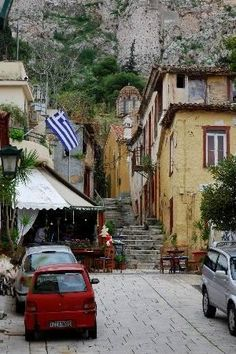 Anafiotika ~ Old Athens, Greece